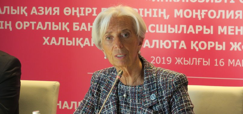 US-CHINA TARIFF WAR COULD STUNT WORLD ECONOMIC GROWTH: IMF