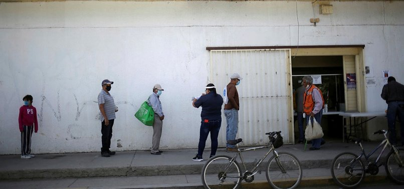 MEXICO REPORTS 5,447 MORE CORONAVIRUS CASES, 355 MORE DEATHS