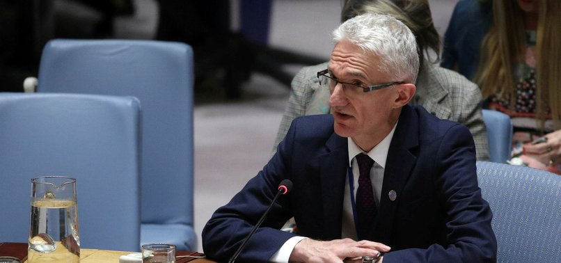UN HUMANITARIAN CHIEF URGES AID DELIVERY TO SYRIANS
