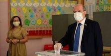 Turkish Cypriots voting in presidential runoff