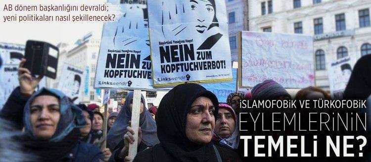 İslamofobik ve Türkofobik eylemlerinin temeli ne?