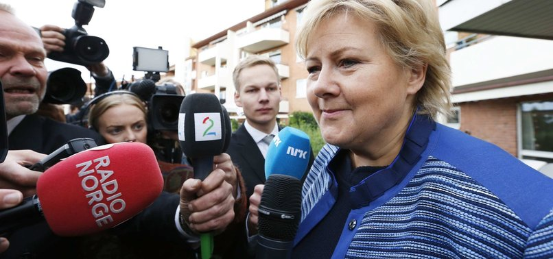 NORWEGIAN PM ERNA SOLBERG FINED BY POLICE FOR BREAKING COVID-19 SOCIAL-DISTANCING RULES