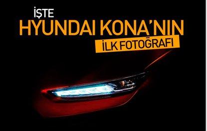 İşte Hyundai Kona'nın ilk fotoğrafı
