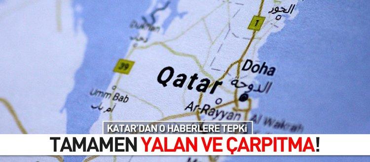 Katar'dan 'Bahreyn' haberlerine yalanlama