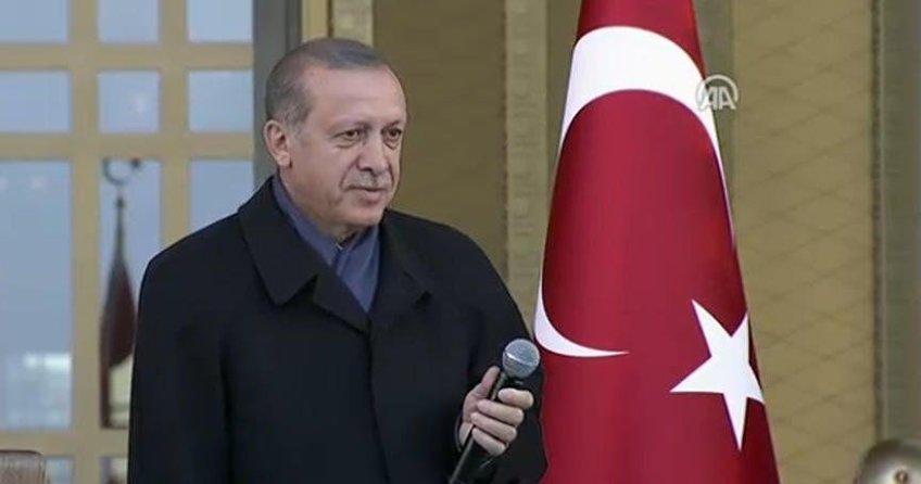 Cumhurbaşkanı Recep Tayyip Erdoğan'dan flaş AB çıkışı