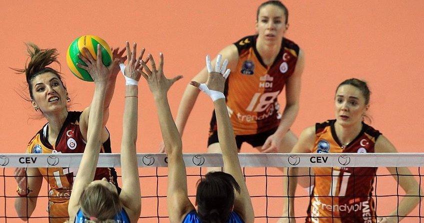Galatasaray CEV Şampiyonlar Liginde turu garantiledi
