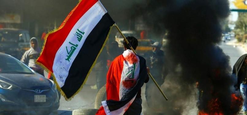 US-IRAN CONFLICT ECLIPSES IRAQI PROTESTS