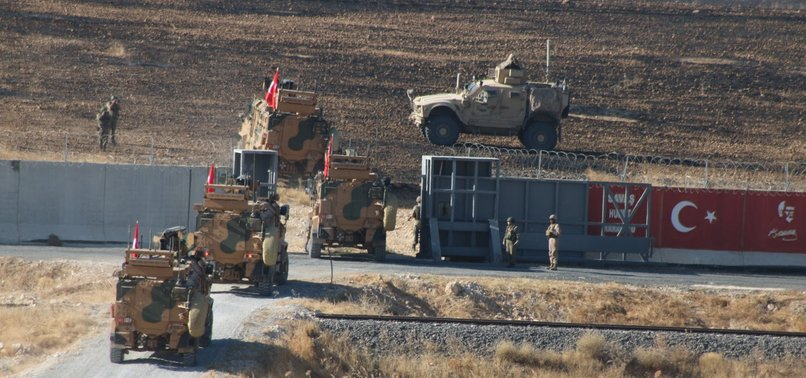 TURKEY, US HOLD 2ND SAFE ZONE JOINT PATROLS IN N.SYRIA
