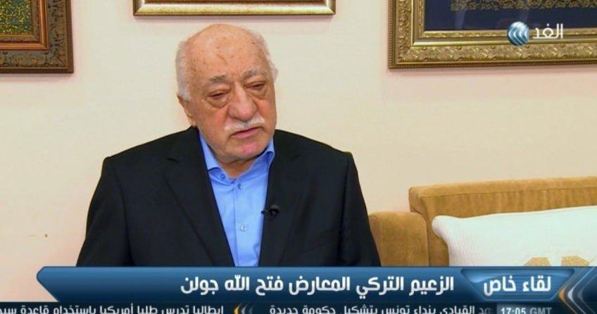Teröristbaşı alçak Gülen Mısır kanalına hükümeti düşürün diye yalvardı!
