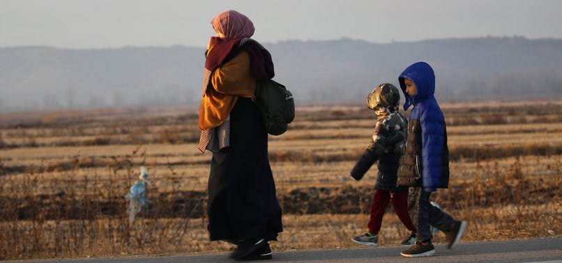 IRREGULAR MIGRANTS HEADING TO EUROPEAN BORDER: TURKEY