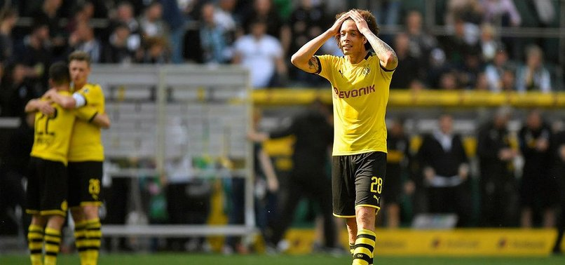 DORTMUND BEAT GLADBACH TO FINISH SECOND IN BUNDESLIGA RACE