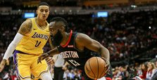 Rockets beat Lakers with Harden's 50 points
