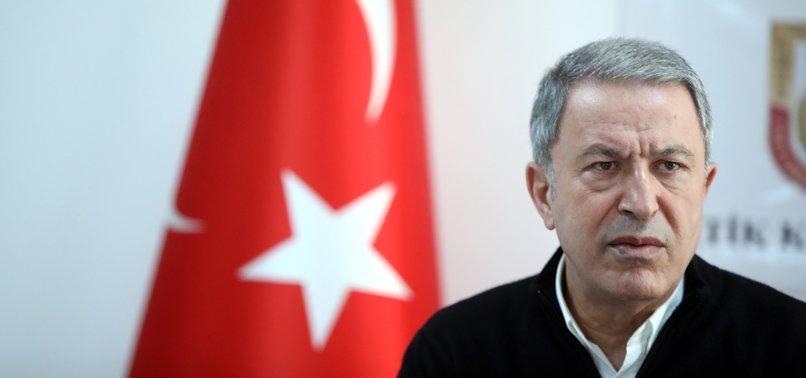 TURKEY LAUNCHES OPERATION SPRING SHIELD TO CLEAR IDLIB REGION FROM REGIME ELEMENTS : TURKEYS DEFENSE CHIEF