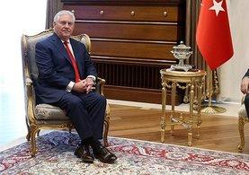 ABD Dışişleri Bakanı Rex Tillerson Erdoğan'la görüştü