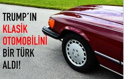 Trumpın klasik otomobilini bir Türk aldı!