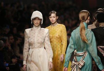 Fendi Sonbahar/Kış 2019 (Karl Lagerfeld'in son koleksiyonu)