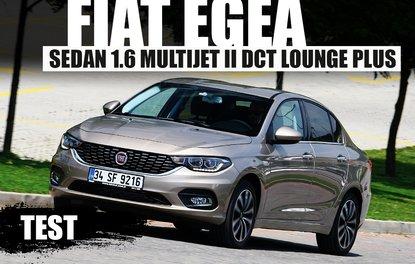 TEST · Fiat Egea Sedan 1.6 Multijet II DCT Lounge Plus