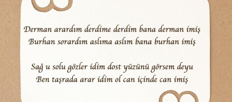 Tasavvuf edebiyatının usta şairi Niyazi-i...