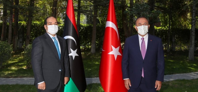 TOP TURKISH DIPLOMAT MEETS WITH LIBYAN VICE PREMIER