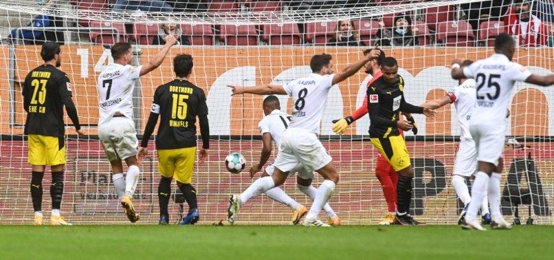 DORTMUND SLUMP TO 2-0 BUNDESLIGA DEFEAT IN AUGSBURG