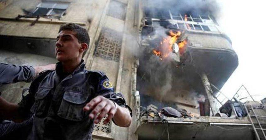 Suriye'de hava saldırısı: 7'si çocuk 9 ölü