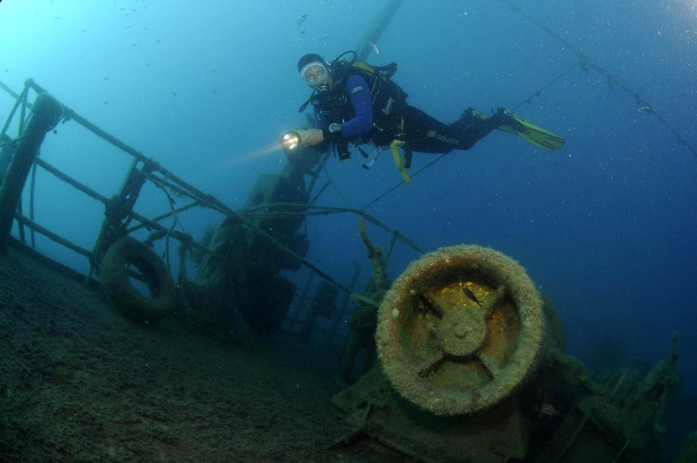 Into the deep: Diving spots in and around Antalya