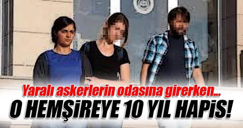 PKK propagandası yapan hemşirenin 10 yıl hapsi istendi