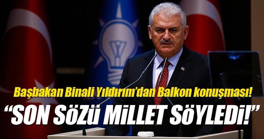Başbakan Yıldırım Referandum ardından açıklamalarda bulundu!