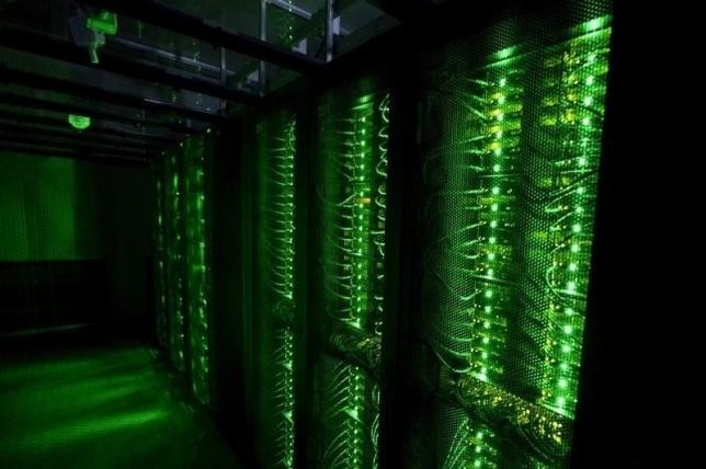 Servers for data storage are seen at Advania's Thor Data Center in Hafnarfjordur, Iceland August 7, 2015. (REUTERS Photo)