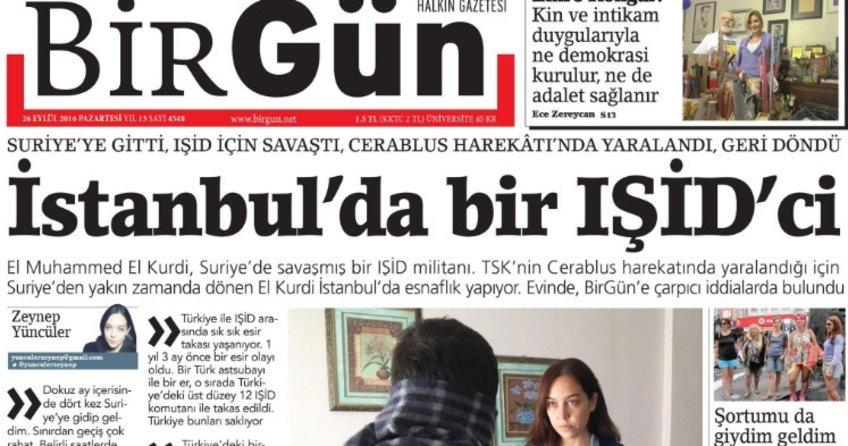 BirGün'den Terör propagandası!