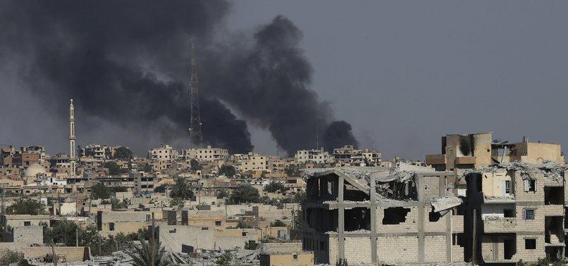 20 YPG/PKK TERRORISTS KILLED IN SYRIAS RAQQAH