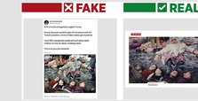 NYT author shares fake photo to slander Turkish military op