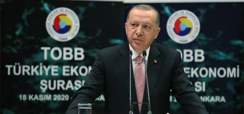 ERDOĞAN SAYS TURKEY WILL FOCUS ON PRODUCTION, INVESTMENT, EMPLOYMENT AND EXPORTS IN NEW ERA