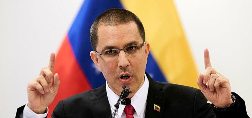 VENEZUELA SLAMS TRUMP FOR SANCTIONS SET ON REGIME CHANGE