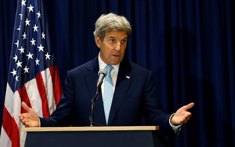 U.S. Secretary of State John Kerry addresses a news conference in Kenya's capital Nairobi, August 22, 2016. (Reuters Photo)