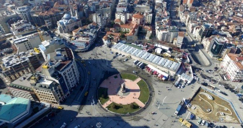 Taksim'e yapılacak caminin temeli, düzenlenen törenle atıldı