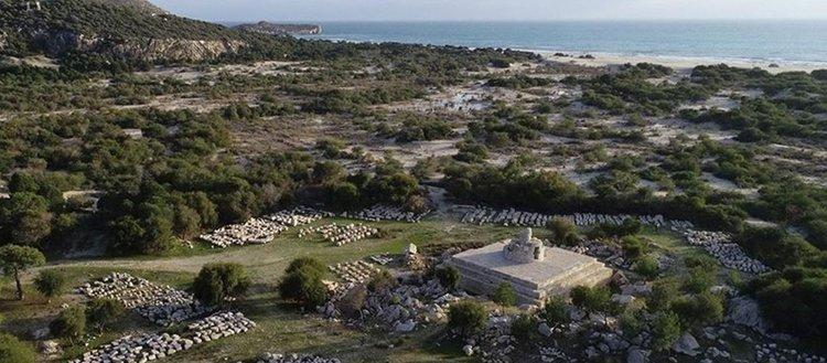Patara'daki deniz feneri asırlar sonra yeniden ışık verecek