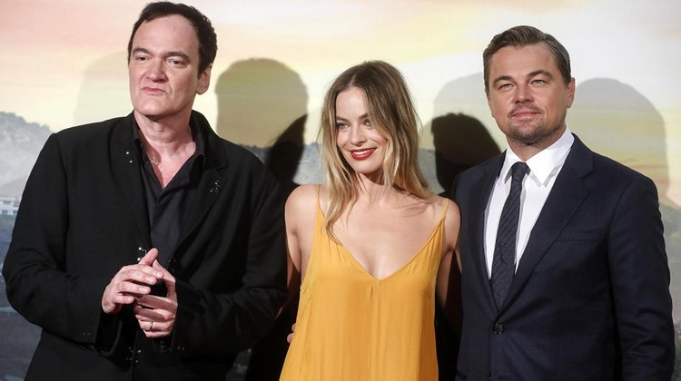 Roma'da Brad Pitt'siz gala: Once Upon a Time in Hollywood