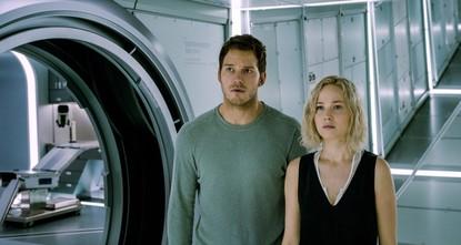bPassengers/bbr / br / Directedb /bby Morten Tyldum the sci-fi film Passengers stars Jennifer Lawrence, Chris Pratt, Michael Sheen and Laurence Fishburne. The movie focuses on two space...