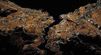 NASAdan Türkiye paylaşımı: Hey İstanbul, parlıyorsun!