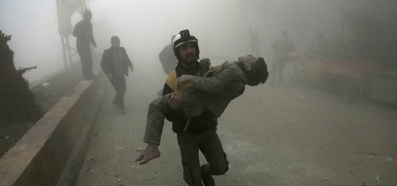 HUNDREDS OF CIVILIANS KILLED IN SYRIAS EASTERN GHOUTA IN 2 MONTHS