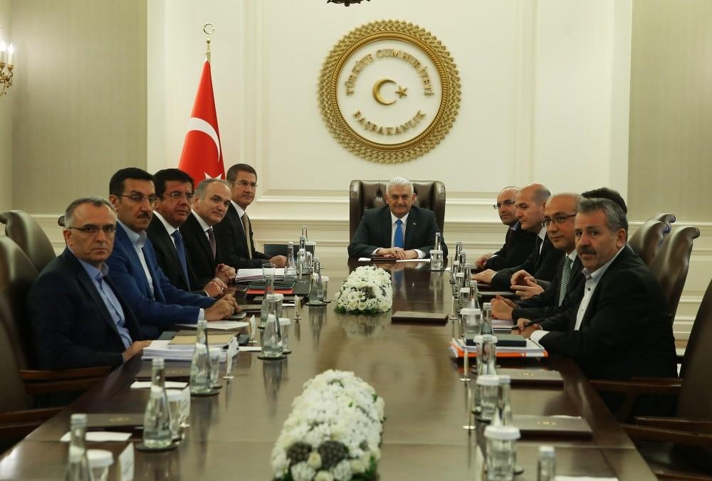 Economy Coordination Council gathered under the chairmanship of Prime Minister Binali Yu0131ldu0131ru0131m on Sunday in Ankara.