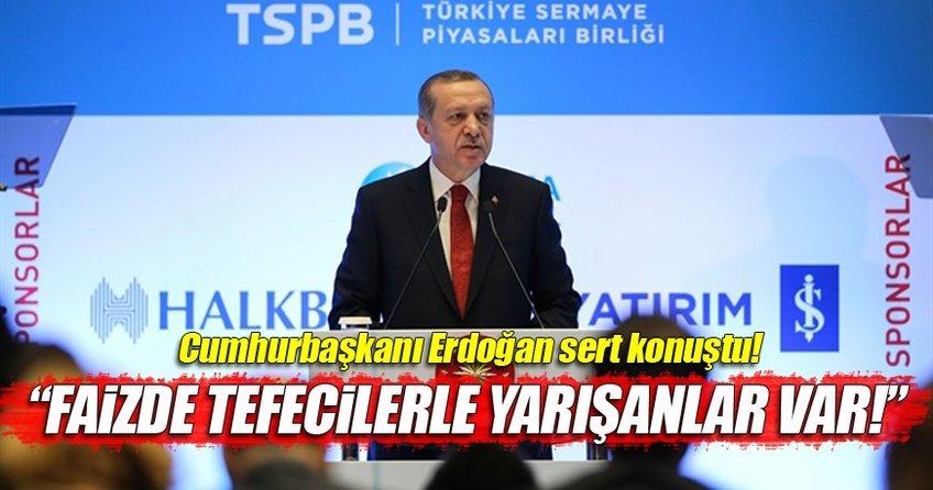 Cumhurbaşkanı Erdoğan Sermaye Piyasaları Kongresi'nde konuştu!