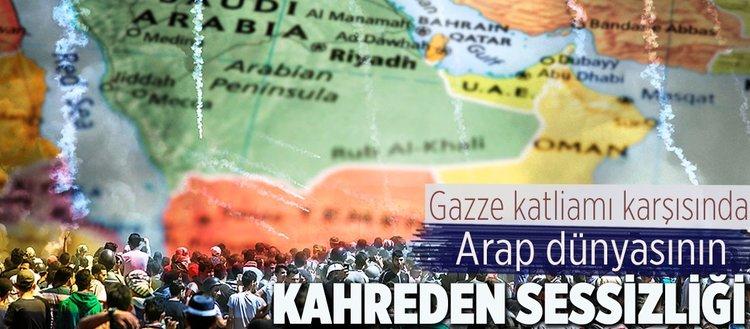 Gazze katliamı karşısında Arap dünyasının kahreden sessizliği