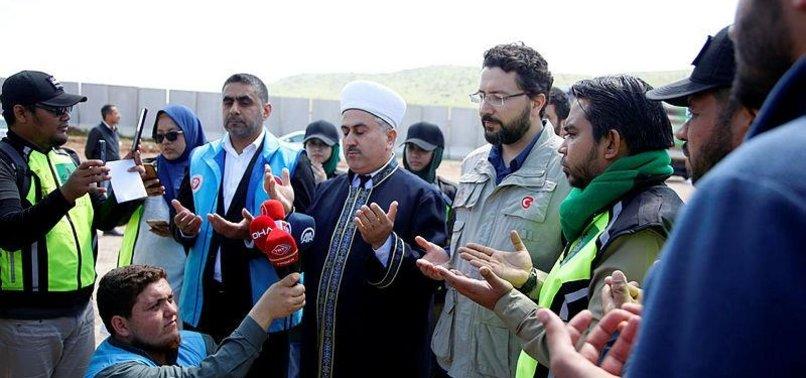 TURKISH, MALAYSIAN CHARITIES SEND AID TRUCKS TO SYRIA
