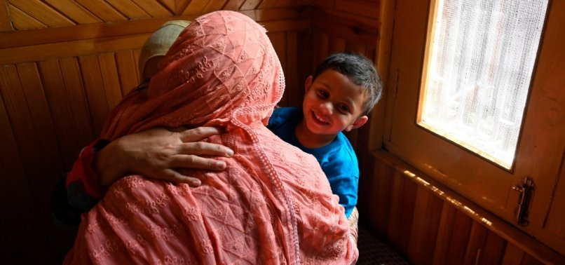 3-YEAR-OLD KASHMIRI CAUGHT IN POLITICAL WAR OF WORDS AFTER BULLETS