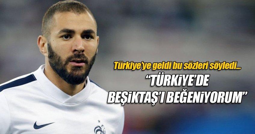 Benzema'nın Türkiye'de beğendiği o takım