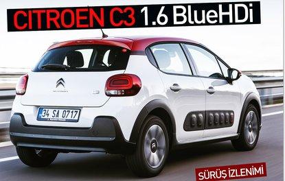 SÜRÜŞ İZLENİMİ · Citroen C3 1.6 BlueHDi