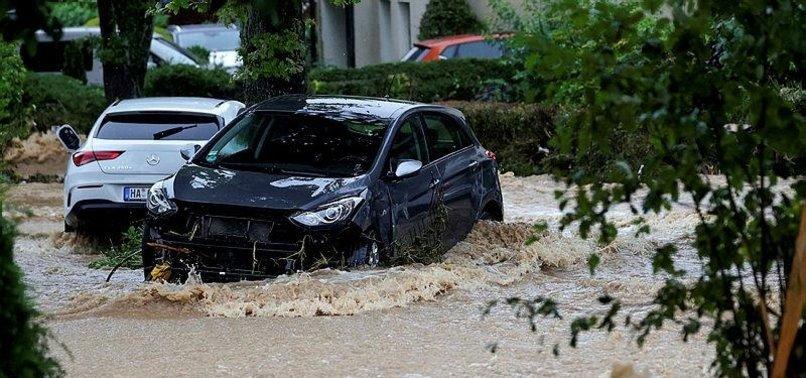 FLOOD-BATTERED GERMANY PREPARES BILLIONS TO REBUILD