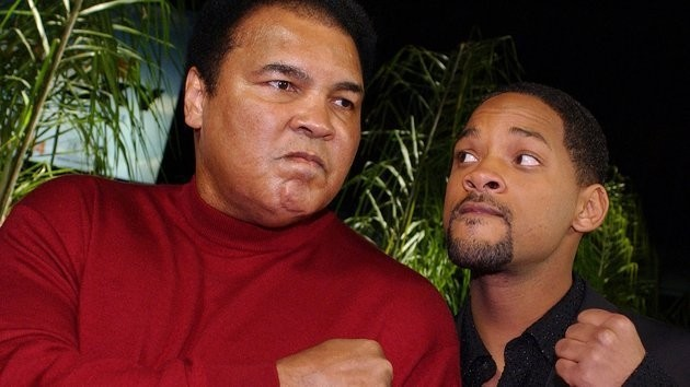 Will Smith played Ali in the 2001 biopic of the same name, earning an Oscar nomination and becoming a family friend.